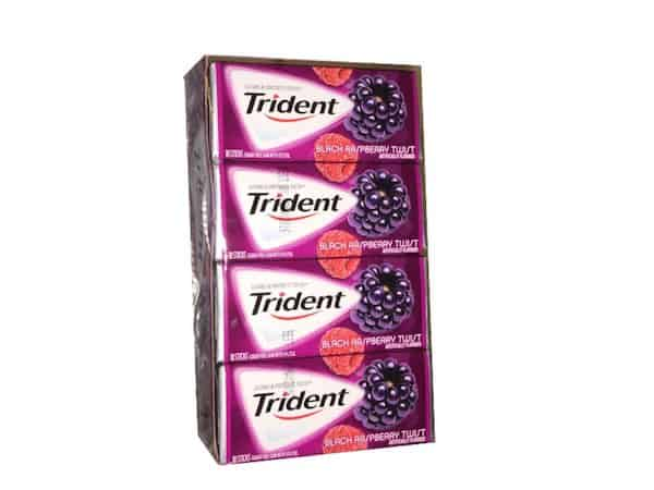 Trident Gum Pack 18ct Printable Coupon