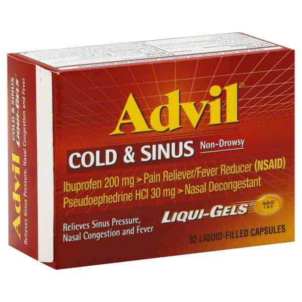 Advil Respiratory Item Printable Coupon