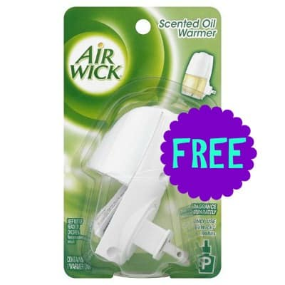 Air Wick Scented Oil Warmer Printable Coupon