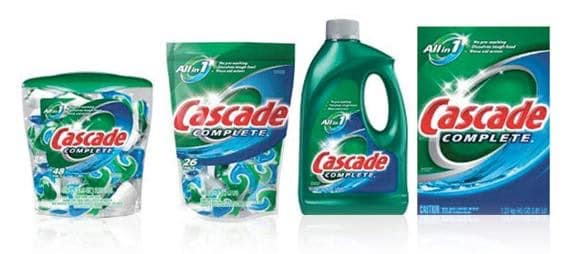 Cascade Dish Detergent Printable Coupon