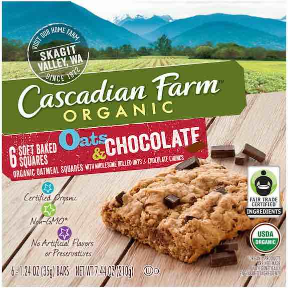 Cascadian Farm Soft-Baked Squares Printable Coupon