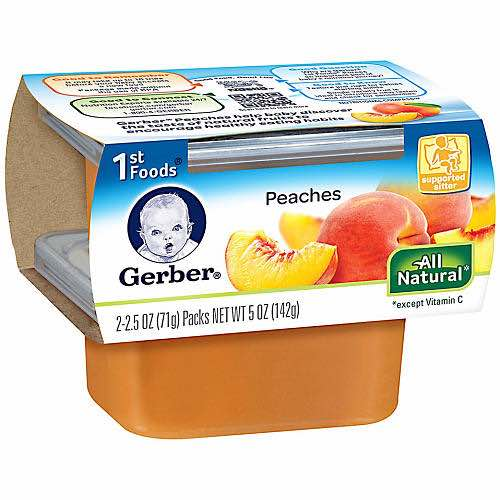 Gerber 1st Foods Printable Coupon