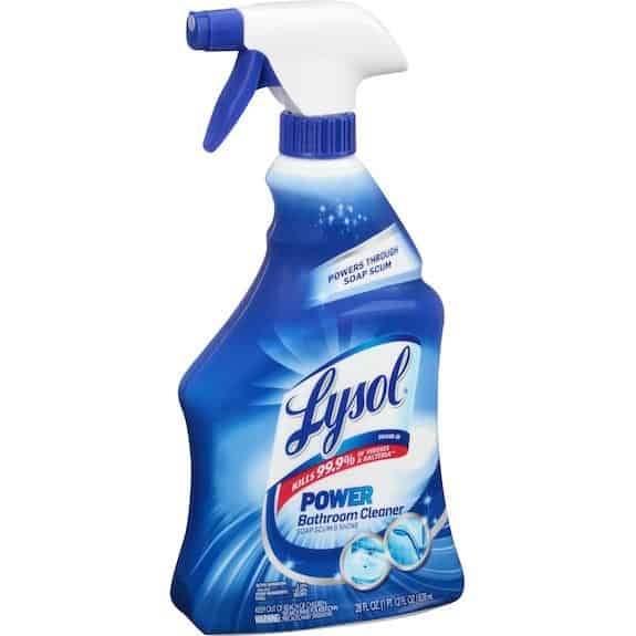 Lysol Power & Free Value Size Trigger Sprays 32oz Printable Coupon