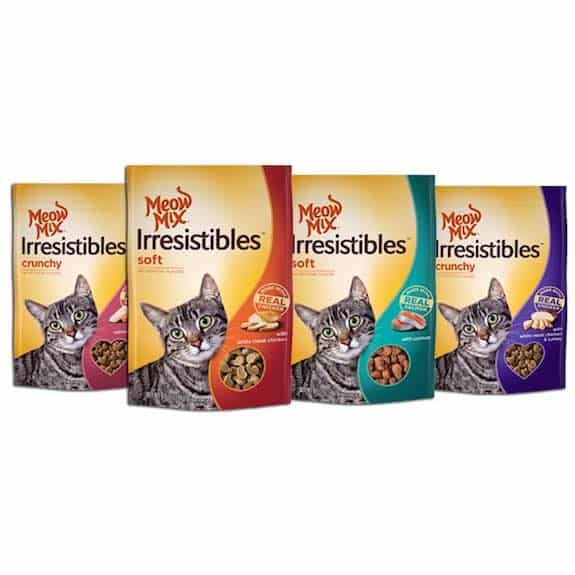 Meow Mix Irresistibles Cat Treats Printable Coupon