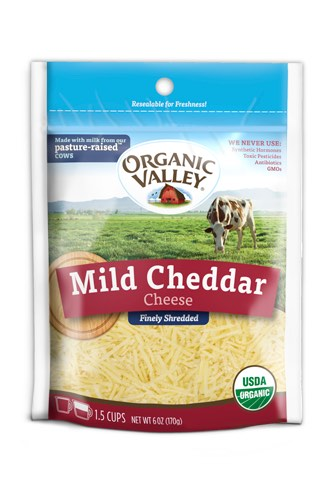 graphic about Cheddars Coupons Printable referred to as Natural and organic Valley Light Cheddar Shreds Printable Coupon
