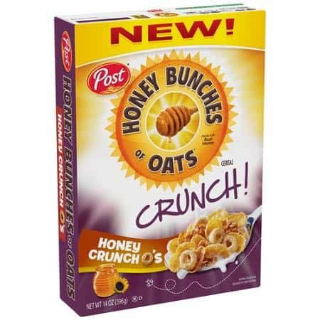 Post Honey Bunches of Oats Crunch O's Cereal Printable Coupon