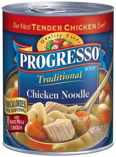 Progresso Soup Can Printable Coupon