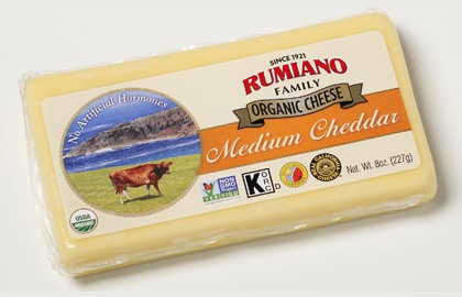 Rumiano Non-GMO Organic 8oz Bar Printable Coupon