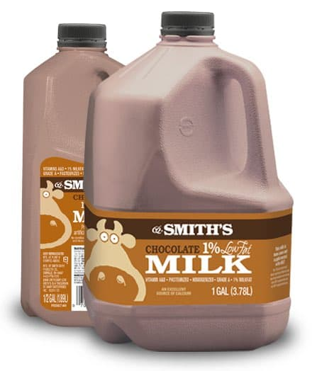graphic regarding Smiths Coupons Printable named Any A single Gallon Of Smiths Chocolate Small Bodyweight Milk $0.50 Off