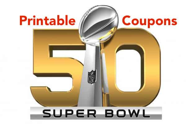 Superbowl Printable Coupons