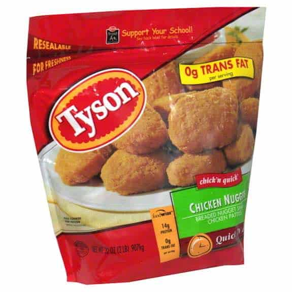 Tyson Chicken Nuggets Printable Coupon