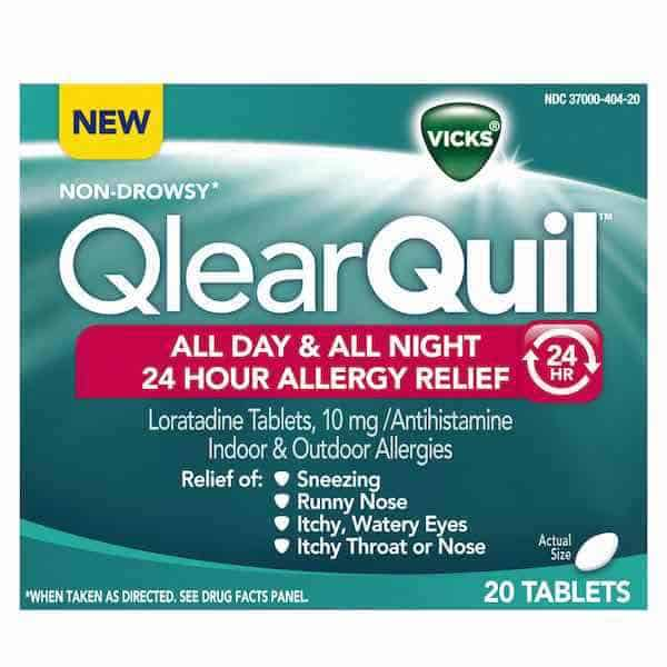 Vicks QlearQuil Printable Coupon