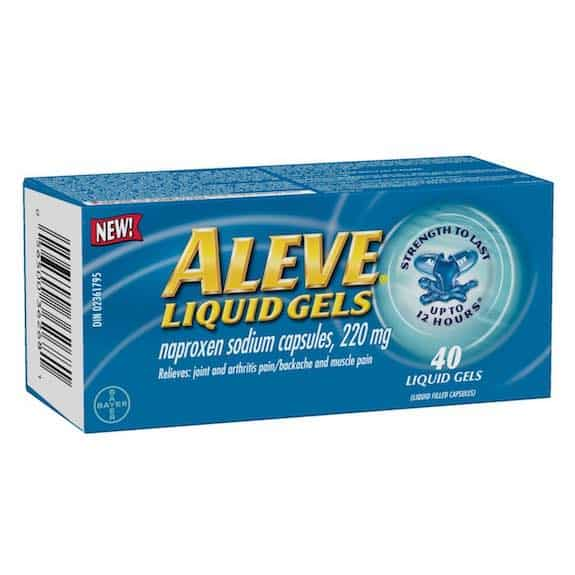 Aleve Liquid Gels 40ct Printable Coupon