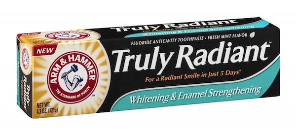 Arm and Hammer Truly Radiant Toothpaste Printable Coupon
