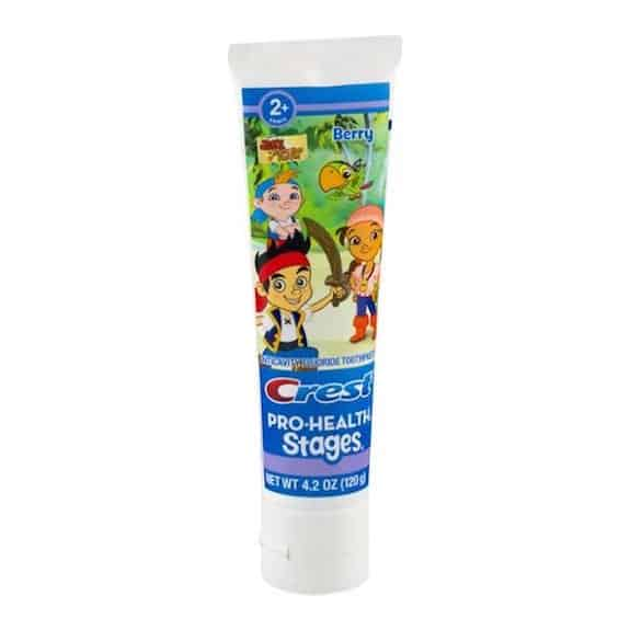 Crest Stages Toothpaste 4.2oz Printable Coupon