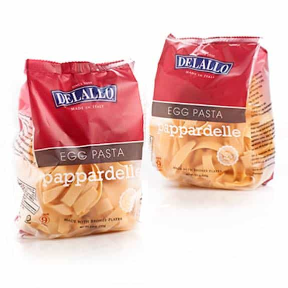 DeLallo Imported Italian Egg Pasta Printable Coupon