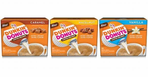 Dunkin' Donuts Coffee Creamer Singles Printable Coupon