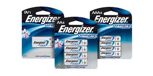 Energizer Ultimate Lithium Batteries Printable Coupon