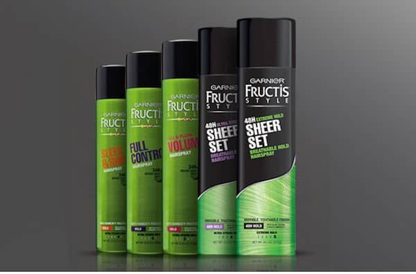 picture relating to Garnier Fructis Printable Coupon called Printable Discount coupons and Offers Design and style Sheer Preset Hairspray