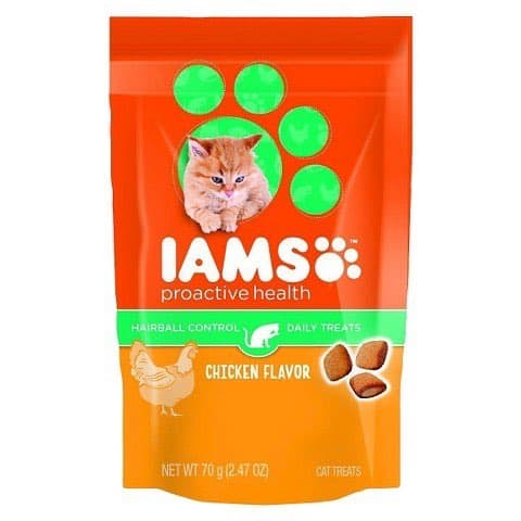 IAMs Cat Treats Printable Coupon
