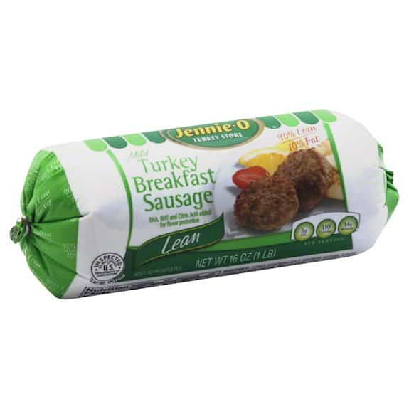Jennie-O Turkey Breakfast Sausage 16oz roll Printable Coupon