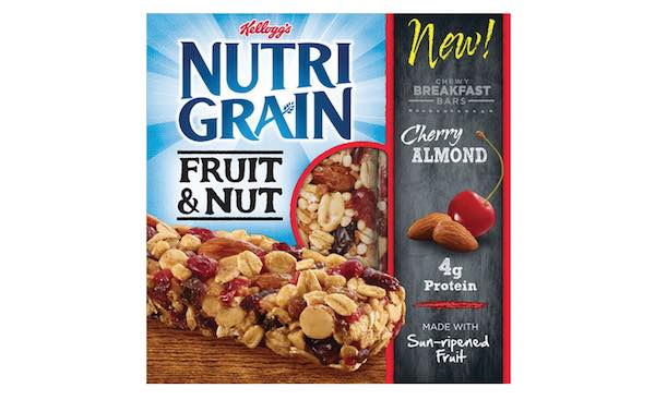 Kellogg's Nutri-Grain Fruit & Bars Printable Coupon