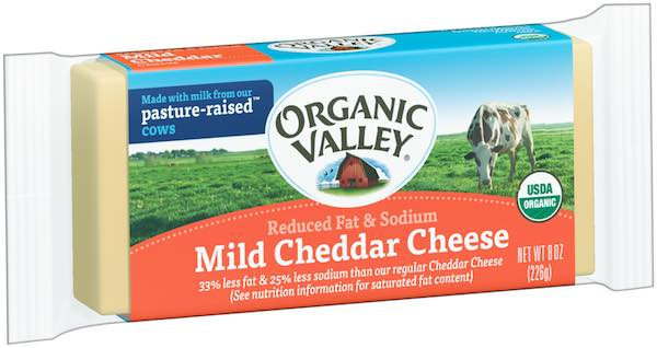 Organic Valley Mild Cheddar Block of Cheese 8oz Printable Coupon