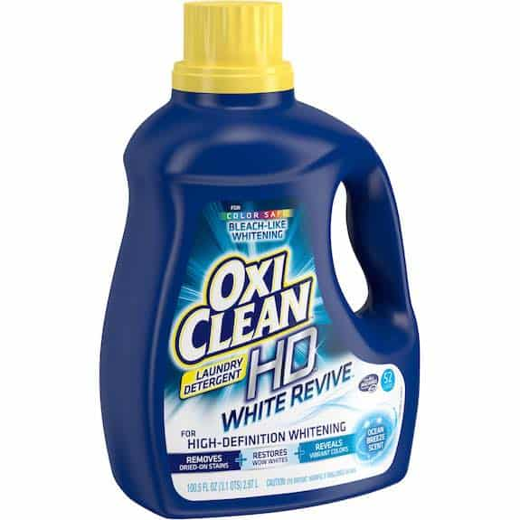 OxiClean HD Laundry Detergent Printable Coupon