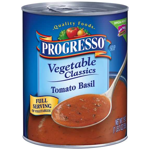 Progresso Creamy Tomato with Basil Soup 19oz Printable Coupon