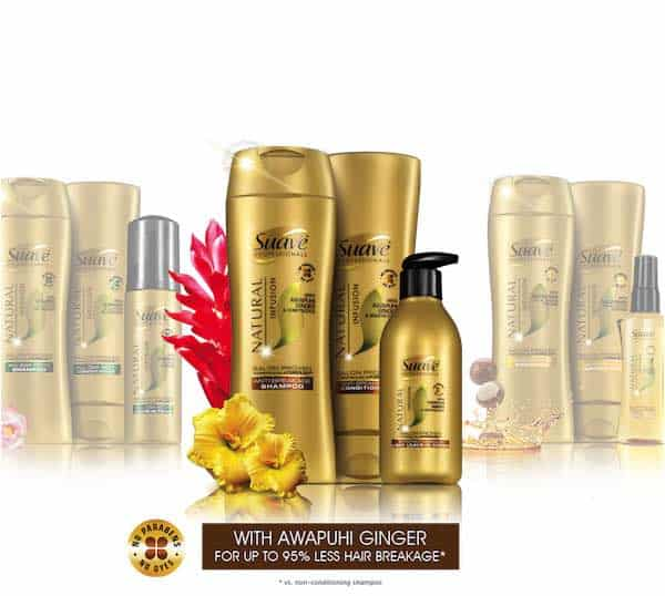 Suave Gold Hair Care Product Printable Coupon