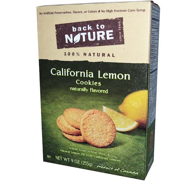 Back to Nature Crackers Box Printable Coupon