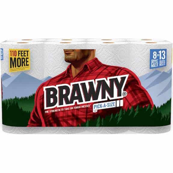 Brawny Paper Towel 8 Giant Plus Printable Coupon