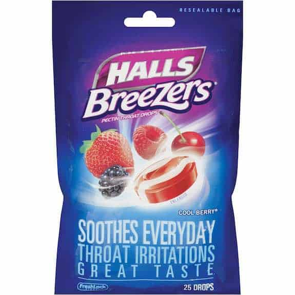Halls Breezers Cough Drops 25ct Printable Coupon