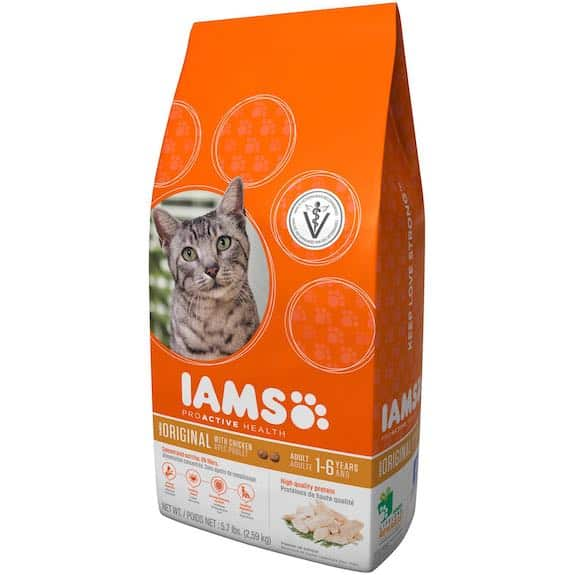 Iams ProActive Healthy Adult Original With Chicken Printable Coupon