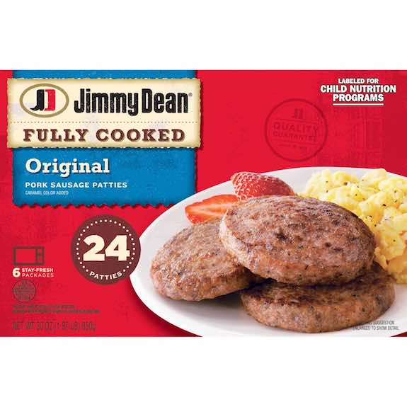 Jimmy Dean Cooked Links or Patties Printable Coupon