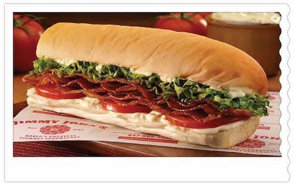 Jimmy Johns Printable Coupon
