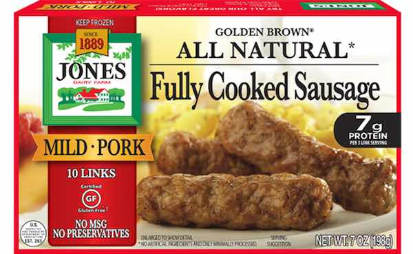 Jones Dairy Golden Brown Sausage Products Printable Coupon