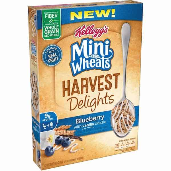 Kellogg's® Mini-Wheats Harvest Delights Printable Coupon