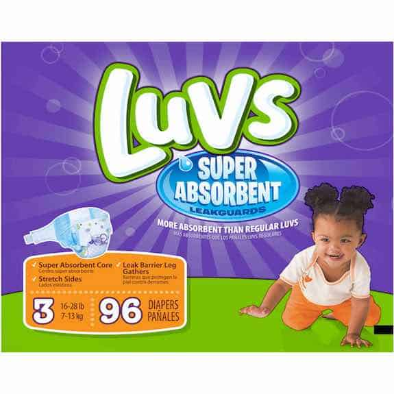 Luvs Super Absorbent Leakguards Diapers 21ct Printable Coupon