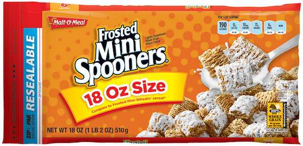 Malt-O-Meal Frosted Mini Spooners 18oz Printable Coupon