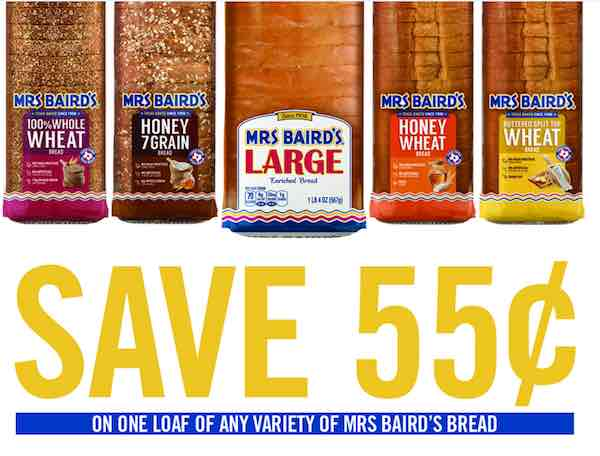 Mrs. Baird Printable Coupon