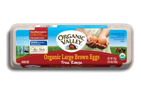 image relating to Organic Valley Coupons Printable titled Natural Valley Eggs $1.00 Off One particular Dozen With Printable