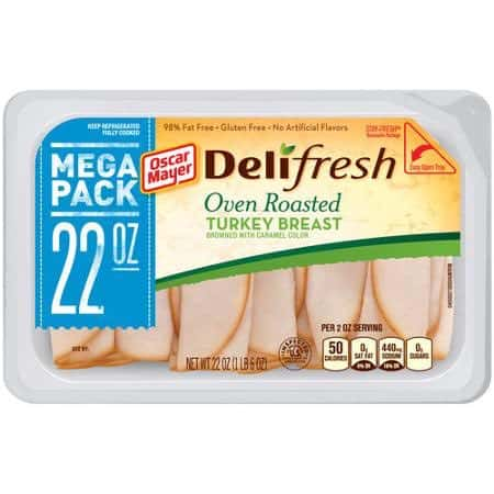 Oscar Mayer Deli Fresh Meat Mega Pack 22oz Printable Coupon