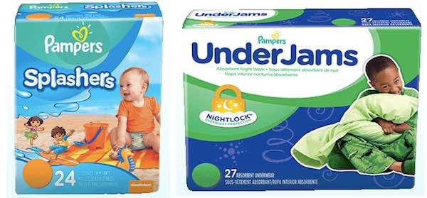 Pampers Splashers and Under Jams Printable Coupon