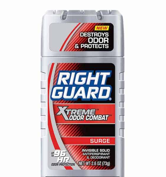 Right Guard Xtreme Odor Combat Deodorants Printable Coupon