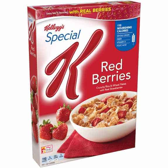 Special K Red Berries Cereal 11.2oz Printable Coupon