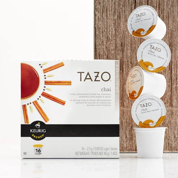 Tazo Chai Latte K-Cup Pods Printable Coupon