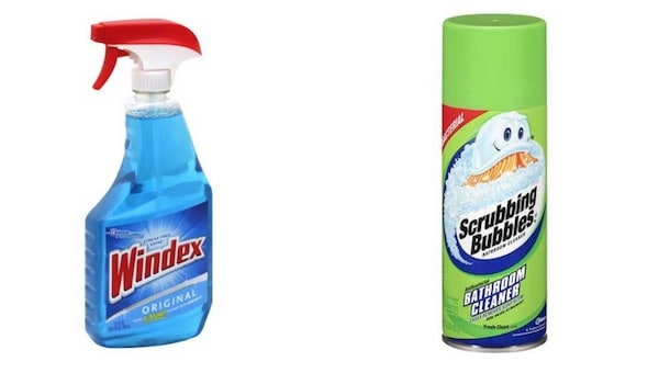 WIndex and Scrubbing Bubble Products Printable Coupon