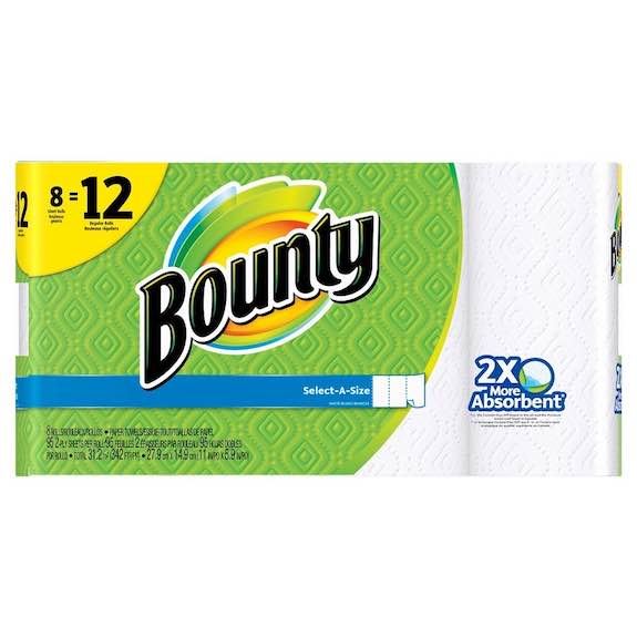 Bounty Paper Towels Giant Roll 8pk Printable Coupon