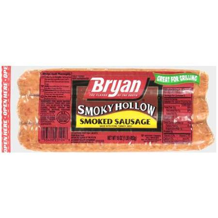 Bryan Smoked Sausage Links Printable Coupon